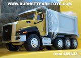Item #85633 CAT CT660 Day Cab Tractor with OX Stampede Dump Truck - 1/64 Scale