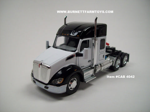 "Item #CAB 4042 Black White Kenworth T680 52"" Sleeper"