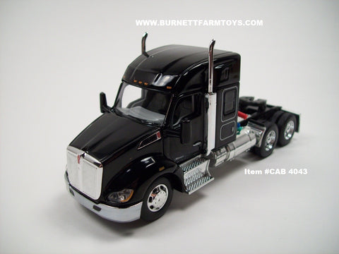 "Item #CAB 4043 Black Kenworth T680 52"" Sleeper"