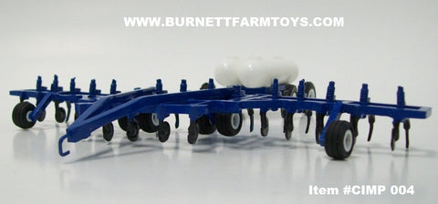 Item #CIMP 004 Blue Bi-Fold Anhydrous Applicator with Twin Bottled Cart
