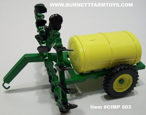 Item #CIMP 003 Green Frame Yellow Tank 23-Knife Anhydrous Applicator