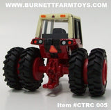 Item #CTRC 005 International 1086 Front Wheel Assist Tractor with Dual Firestones Front Weights Turn Out Stack