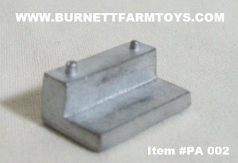 Item #PA 002 L-Shaped Fuel Tank - 1/64 Scale