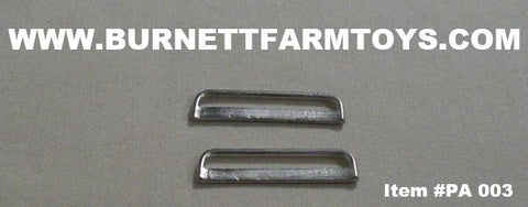 Item #PA 003 Nerf Bars for Extended Cab Pickup Trucks (Pricing Per Pair) - 1/64 Scale