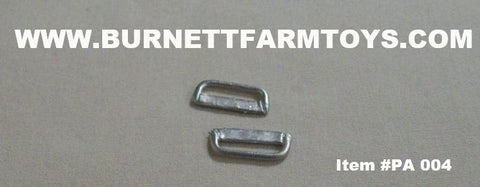 Item #PA 004 Nerf Bars for Standard Cab Pickup Trucks (Pricing Per Pair) - 1/64 Scale