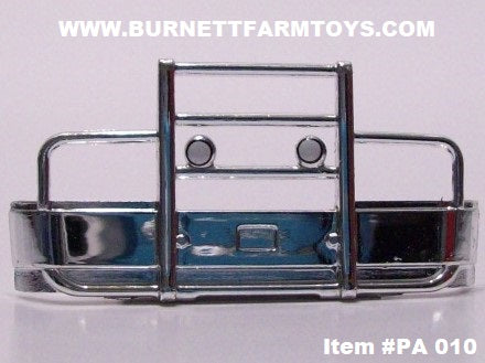 Item #PA 010 Die-Cast Promotions Chrome Plastic Front Grill Guard Bumper for Semi Tractor Cab