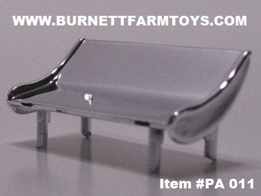 Item #PA 011 Die-Cast Promotions Chrome Plastic Turbo Wing for Semi Tractor Cab