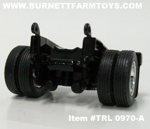 Item #TRL 0970-A Black Flip Axle - 1/64 Scale