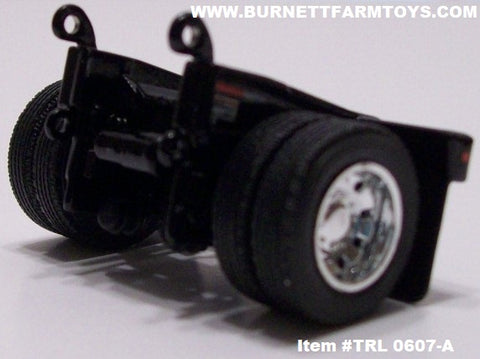 Item #TRL 0607-A Black Fontaine Flip Axle - 1/64 Scale