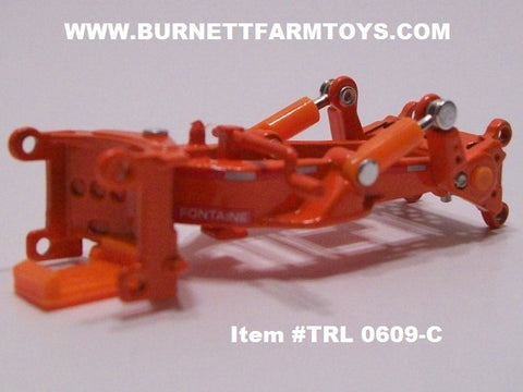 Item #TRL 0609-C Orange Fontaine Spreader