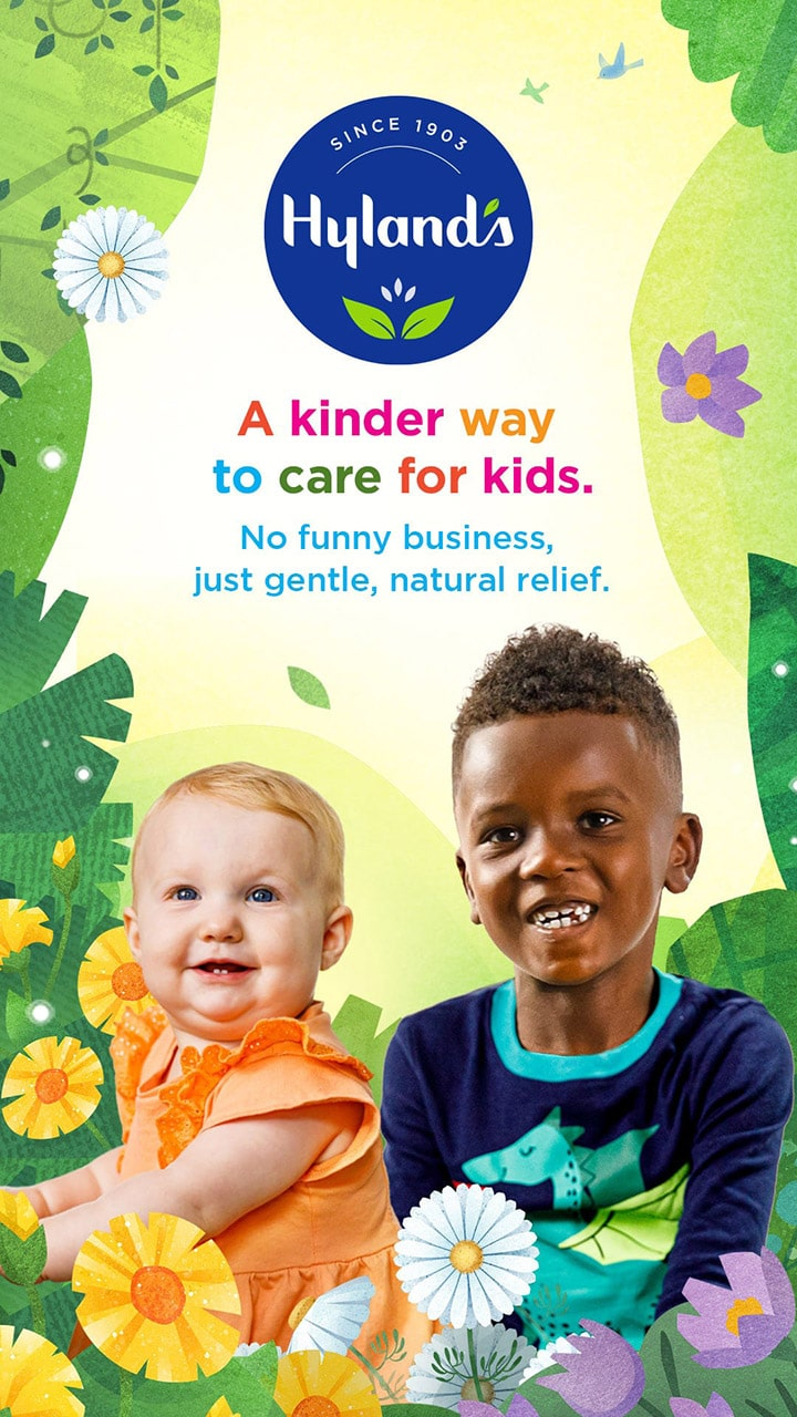 A Kinder way to care for kids. No funny business, just gentle, natural relief.