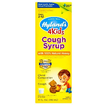 Hyland's 4 Kids Cough Syrup with Natural Honey