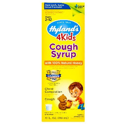 4 Kids Cough Syrup with Natural Honey