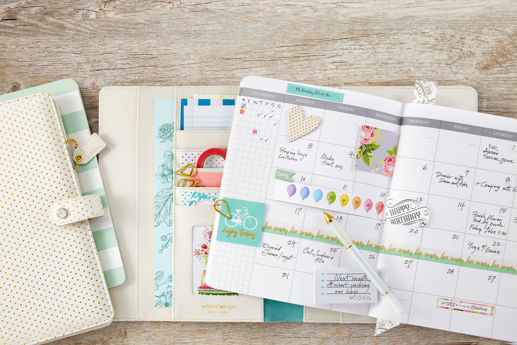 New Color Crush Composition Planners by Webster's Pages