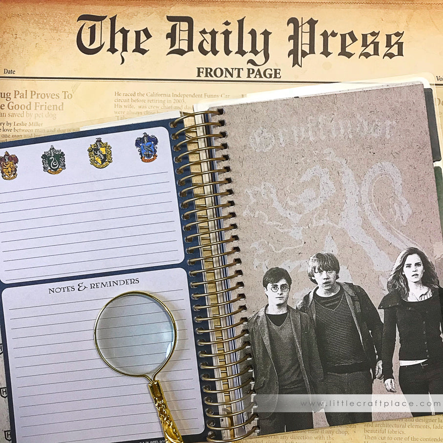 NEW Harry Potter Mini Planner 12-Month Undated