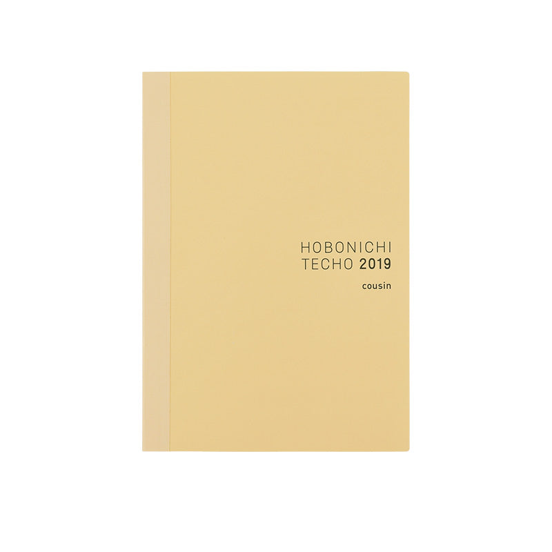 Hobonichi Techo Cousin Book Only A5 Size Book (Japanese)