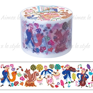 Concert in Forest Japanese Washi Tape Aimez le style