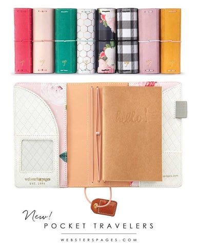 Color Crush Pocket Traveler's Planner