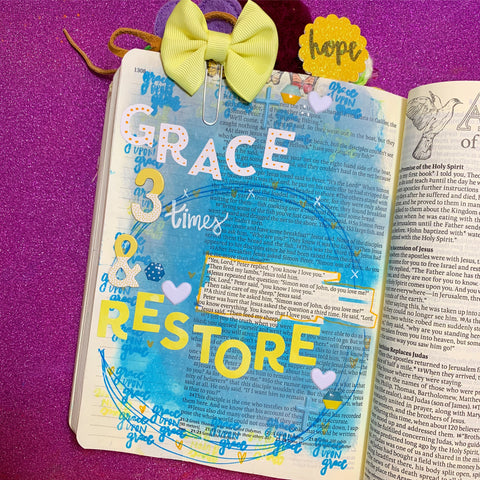 Amber Bolton Inspire Bible TOUR in Little Craft Place