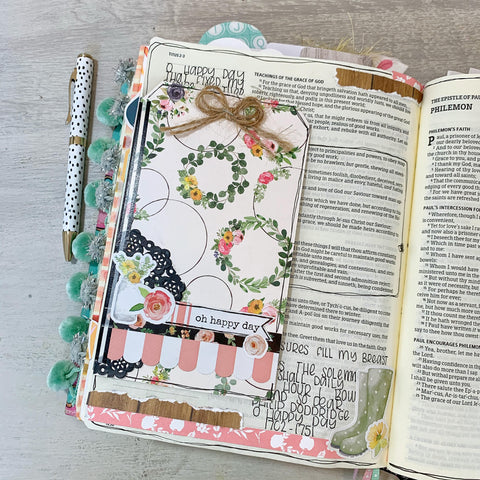 Bible Journaling with Kami Higgins at Little Craft Place