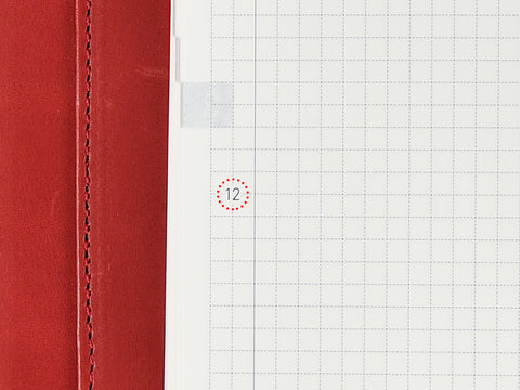 Hobonichi Techo Planner Customizable time line