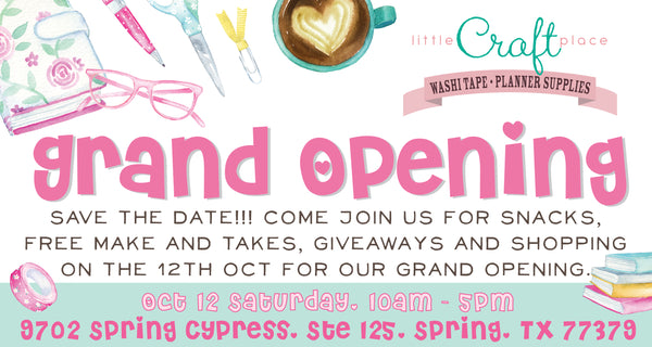 Grand Opening of Little Craft Place