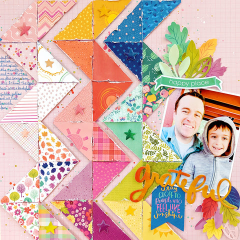 Layouts with Paige Evans for Little Craft Place