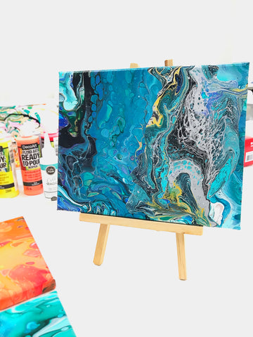 Acrylic Pouring Art Workshop at Little Craft Place