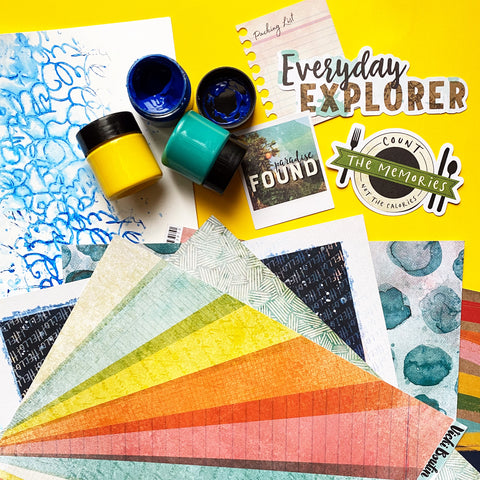 Texture Paste Mixed Media Techniques for Layouts with Vicki Boutin