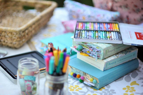 Faith Junk Journals: Live Inspired Daily Class by Amber Bolton Bible Journaling
