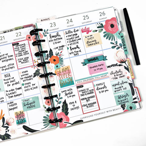 Lettering in Your Planner with Heather from @kellofaplan