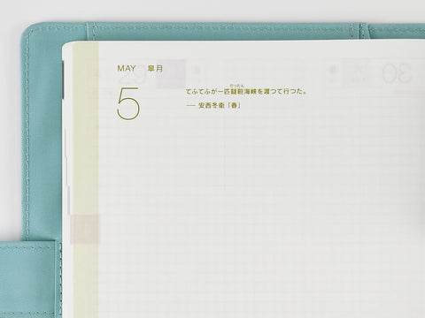 Hobonichi Techo Cousin A5 2019 Remember This