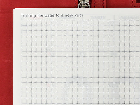 Turning the page to a new year Hobonichi Techo Planner 2019