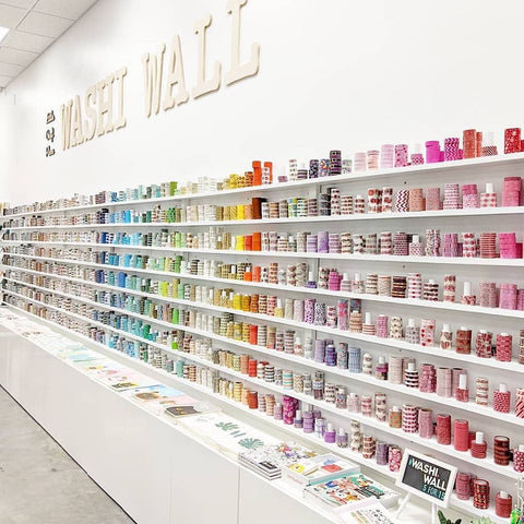 Little Craft Place Washi Wall