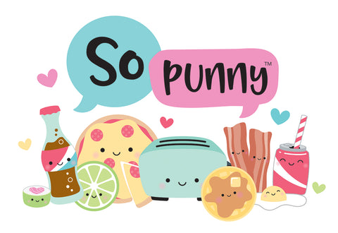 Doodlebug ~ SO PUNNY ~ Mini Icons