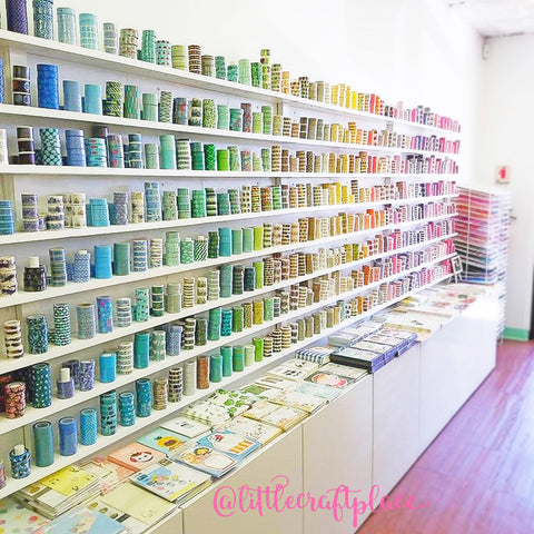 The Great Wall of Washi at Little Craft Place