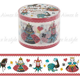 Playing Card Japanese Washi Tape Aimez le style