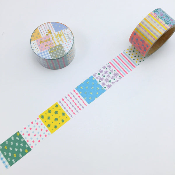 Natural Pattern Japanese Washi Tape Aimez