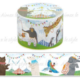 Animal Circus Japanese Washi Tape Aimez