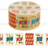 Face Cards Japanese Washi Tape Aimez le style
