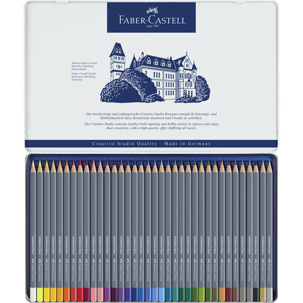 Goldfaber Aqua Watercolor Pencils Tin of 36