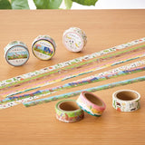 Autumn Masking Tape 13 Risshuu Sunflower • 543life Japanese Washi Tape