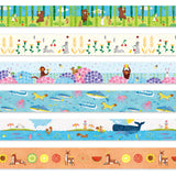 Monkey Masking Tape 09 Boushu • 543life Japanese Washi Tape