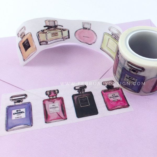 Perfume Bottles Washi Tape