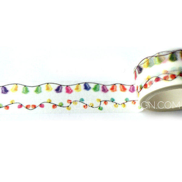 Christmas Lights Washi Tape