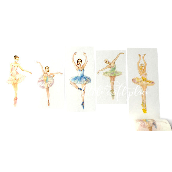 Ballet Dancer Washi Tape