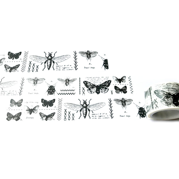 Butterfly Insect Encyclopedia Washi Tape