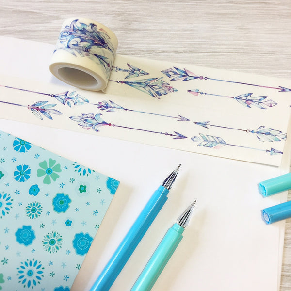 Crystal Arrows Washi Tape