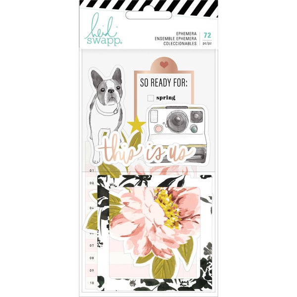 Heidi Swapp Honey & Spice Ephemera Die-Cuts 72/Pkg