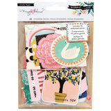 The Willow Lane Collection Ephemera with Embossed Accents will be a sweet addition to any of your paper crafting projects! There are 41 die cut cardstock pieces, 10 with embossed accents, included in the package. The pieces are made by Crate Paper and designed by Maggie Holmes and they coordinate with the rest of the Willow Lane Collection.